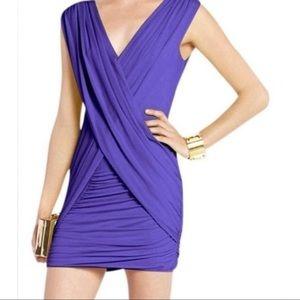 "NEW BCBG MAXAZRIA ""Alondra"" Draped Mini Dress"